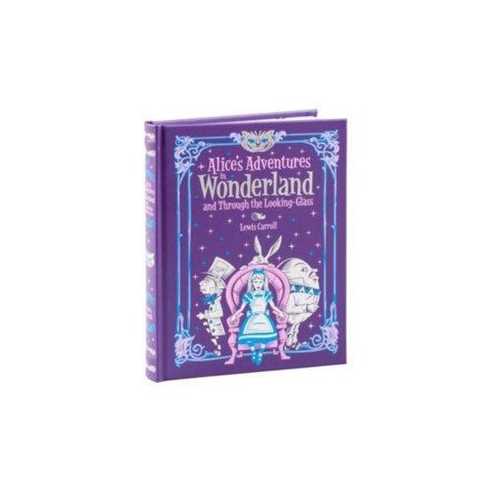 Boek cover Alices Adventures in Wonderland and Through the Looking Glass (Barnes & Noble Collectible Classics van Lewis Carroll (Hardcover)