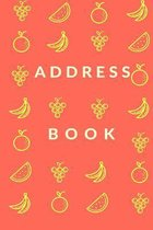Fruit Address Book