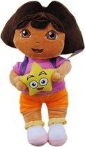 Dora de Ontdekker Dora the Explorer Pluche knuffel - Dora 35cm.