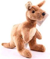 Pluche kangoeroe knuffel