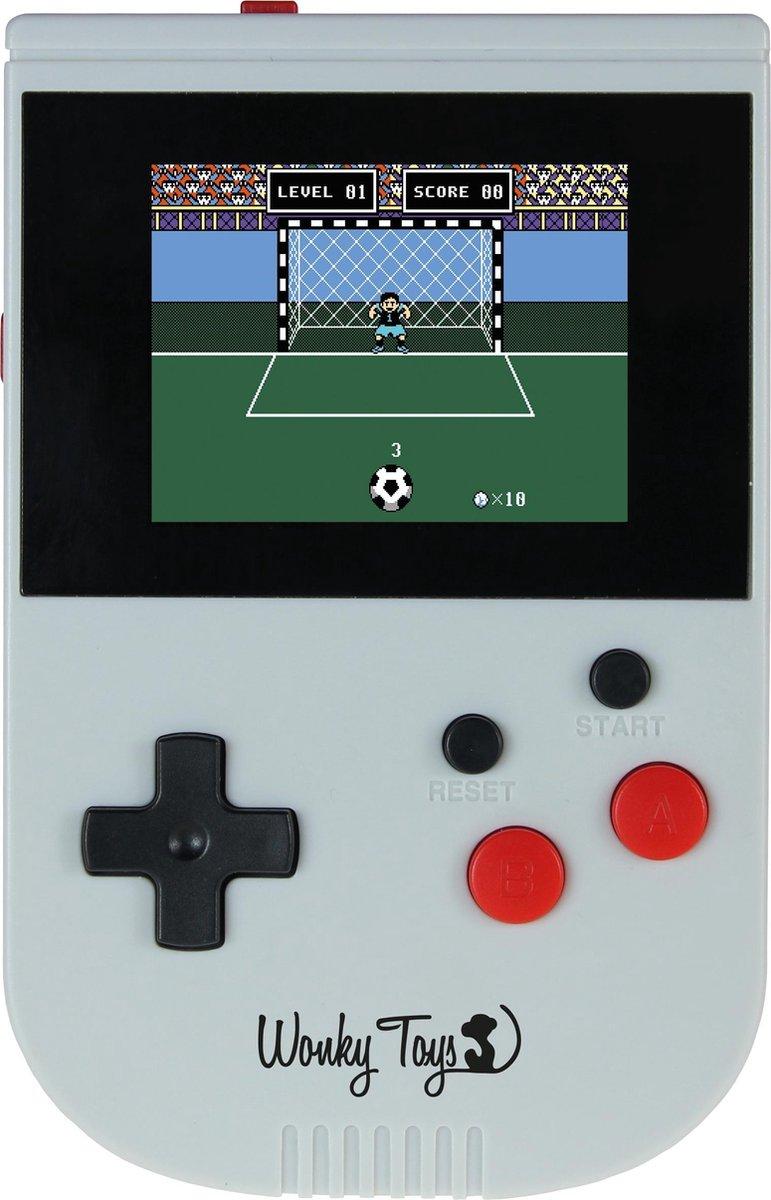 Wonky Toys - Retro Spelcomputer - Handheld Game Computer - Kleurrijk Scherm - 200 Spellen