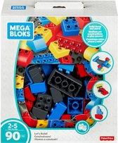 Mega Bloks First Builders  Mini Jumbo Box 90 Blokken - Constructiespeelgoed