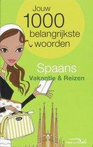 Boek cover Spaans / vakantie en reizen van Van Dale