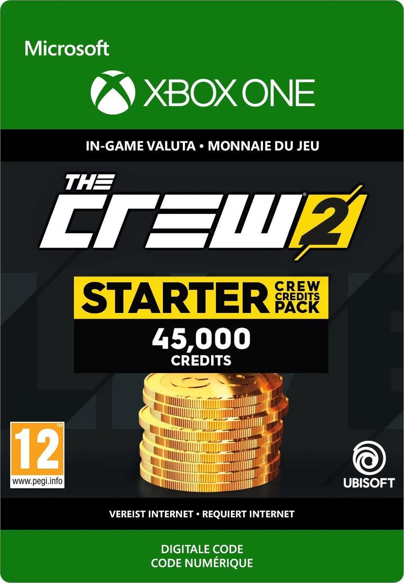 The Crew 2 Starter Crew Credits Pack - Xbox One - Microsoft