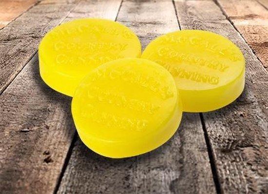 McCall's Candles Wax Melt Button Laura's Lemon Loaf 3 stuks