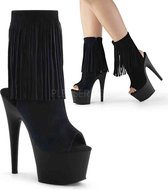 Pleaser Enkellaars -37 Shoes- ADORE-1019 US 7 Zwart