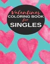 Valentines Coloring Book for Singles