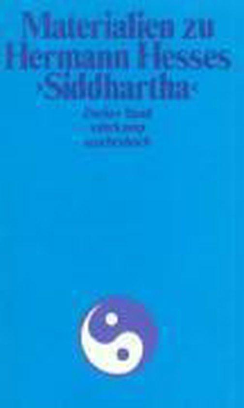 Materialien zu Hermann Hesses 'Siddhartha'