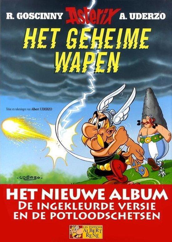 Asterix LU33. Het geheime wapen (luxe editie) - Rene Stoeltie | Fthsonline.com