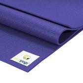 Ecoyogi Studio Yoga Mat Paars - 200 cm - extra lang