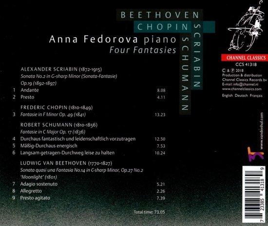 Four Fantasies - Anna Fedorova