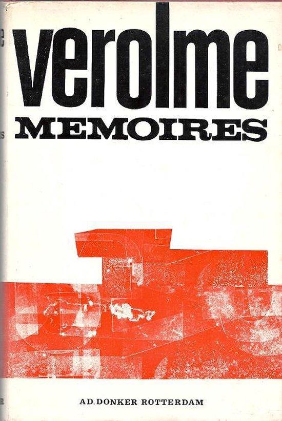 Memoires - Cornelis Verolme |