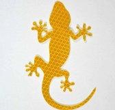 Auto Reflecterende Sticker , Waarschuwing Tape, Reflecterende Strips, Veiligheid Mark, krokodil - geel