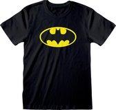 DC Batman - Logo Unisex T-Shirt Zwart