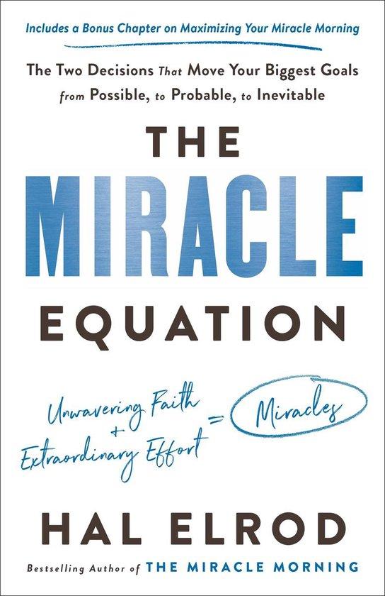 Boek cover The Miracle Equation van Hal Elrod (Paperback)