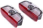 2x VW deur logo projector [ Volkswagen instap verlichting / portier lamp  - 1K0947411A - 000052120B - 000052120C ]