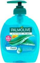 Palmolive Handzeep – Pompje Hygiene Plus Fresh Blauw  - Voordeelverpakking 12 x 300 ML