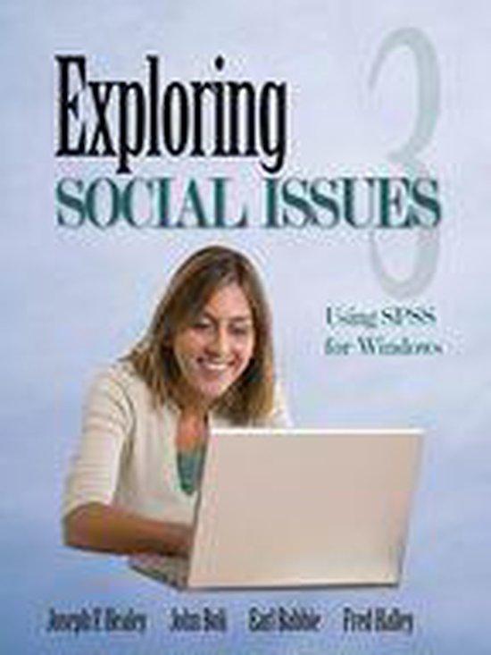 Boek cover Exploring Social Issues van Joseph F. Healey (Onbekend)