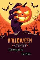 Halloween Activity coloring book for kids
