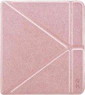 Hoesjes Boetiek - Origami Sleepcover voor Kobo Forma -  Roze Goud