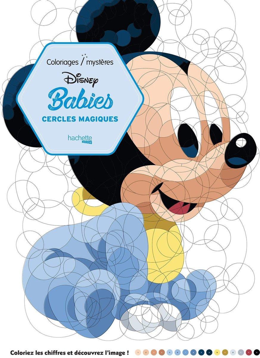 Disney Babies Coloriages Mysères Cercles Magiques