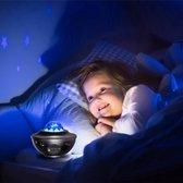 Starry projector light – Sterrenlamp – Met muziek – Bluetooth & usb-aansluiting
