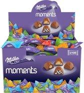 Milka - Moments Chocolade Mix - 108 stuks - per stuk verpakt