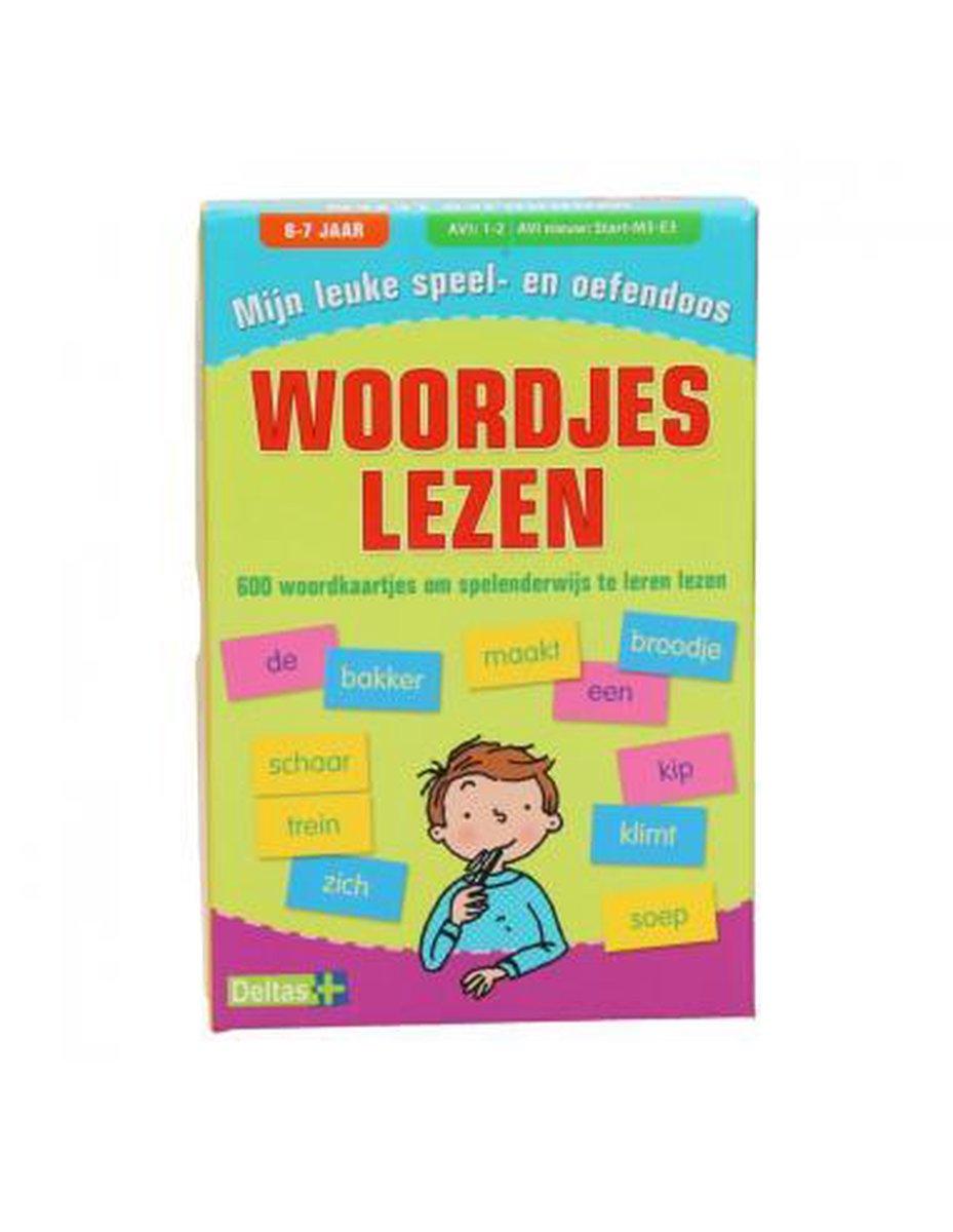 Mijn leuke speel- en oefendoos (6-7 j.) - Woordjes lezen
