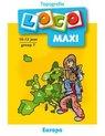 Afbeelding van het spelletje Loco Maxi - Boekje - Topografie Europa - 11/12 Jaar - Groep 7
