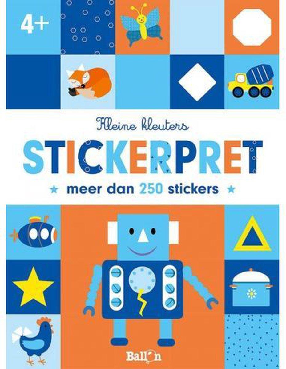 Kleine kleuters Stickerpret 4+