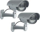 ELRO CDB25S-2 Outdoor Dummy Camera met LED's - 2 Pack