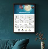 Maankalender 2021 - A3 poster