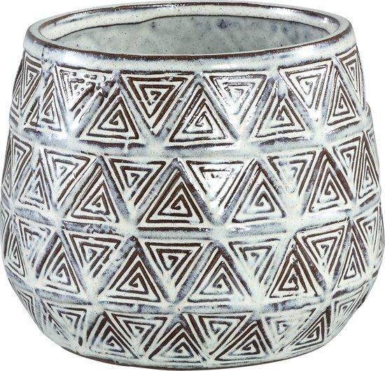 PTMD Pot M Jayda bruin 16x13x16 cm
