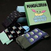 Disney Star Wars - The Mandalorian - Sokken in Kado Box - 3 paar 35-41