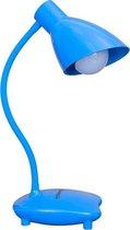 SLANG TAFELLAMP HET BASISMODEL KLEUR BLAUW Er kan alleen een 5w LED-lamp worden gebruikt