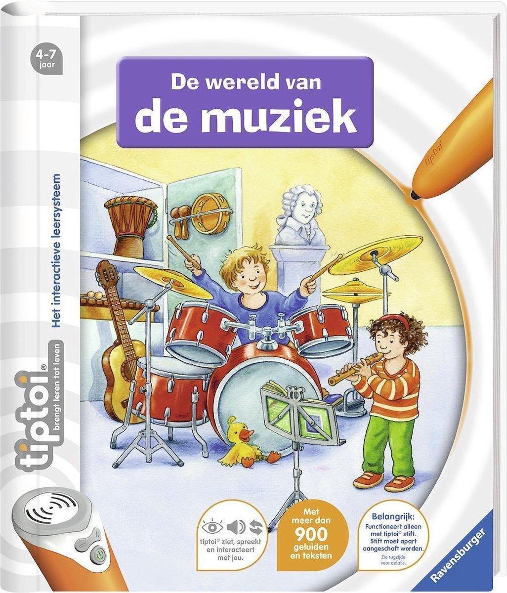 Ravensburger tiptoi® boek De wereld van de muziek