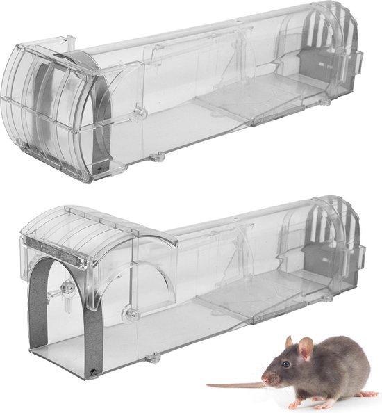 verbeterde versie Diervriendelijke muizenval met gratis E-book - muizenvallen - muizen bestrijden - anti muis - mousetrap - muizenverjager - lokdoos - 2020 versie