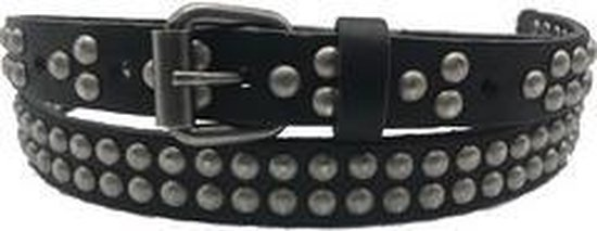 Zwarte riem - Washed Black  Dames riem - Broekriem Dames - Dames riem -  Dames riemen - heren riem - heren riemen - riem - riemen - Designer riem - luxe