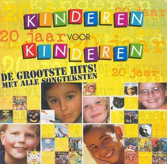 CD cover van 20 Jaar Kinderen Voor Kinderen van Kinderen voor Kinderen
