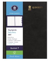 Ryam Quintet 4 Agenda 2020 - 23x30 cm - Zwart - Dag per pagina