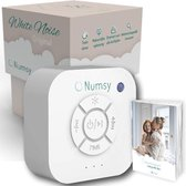 Numsy® Original White Noise Machine Baby - Slaaptrainer - Witte Ruis Baby - Slaaphulp - Slaap Geluidsmachine - Muziekdoosje