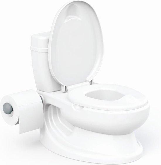 Product: WC potje - Babystartup - White - Potty – WC potje baby – WC potje peuter met geluid – Potty training – Potty training seat - WC potje kind – WC potje peuter jongens – Zindelijkheid, van het merk Moony