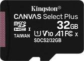Kingston - Micro SD kaart - Class 10 - 32GB