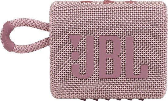 JBL Go 3 mini luidspreker – roze
