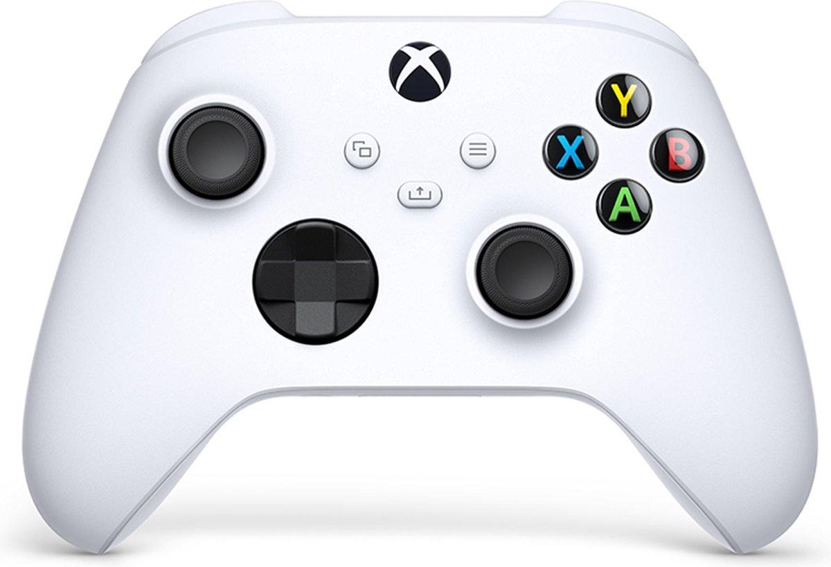 Xbox Draadloze Controller - Robot Wit- Series X & S - Xbox One