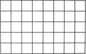 Wandrek zwart metaal - 80 x 50 cm