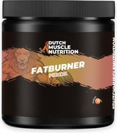 Dutch Muscle Nutrition Fatburner  – Perzik (300 gram) + Gratis Gift!
