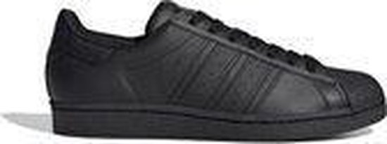adidas Superstar Heren Sneakers - Core Black/Core Black/Core Black - Maat 46 2/3