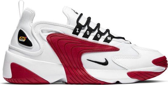 Nike Zoom 2K Heren Sneakers - White/Black-Gym Red-White - Maat 37.5