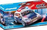 PLAYMOBIL City Action Politiepatrouille met licht en geluid - 6920